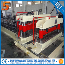 Corrugated Steel Roof Tile Press , Door Rail Cold Roll Forming Equipment