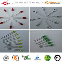 Electronic component red led diodes 660nm