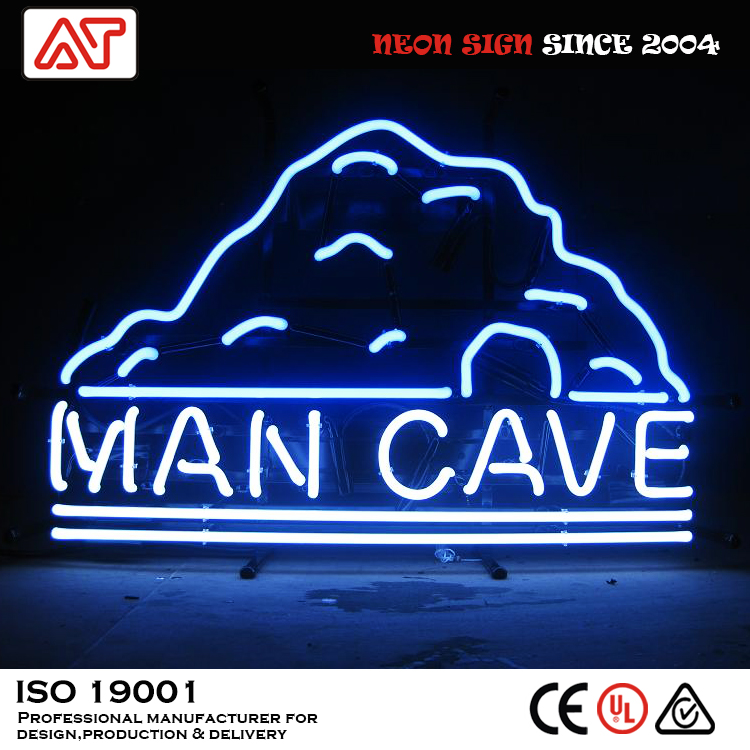 man cave Professional china factory portable neon sign display custom