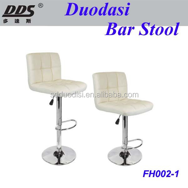 Bar Stool Pu Leather Barstools Chairs Adjustable Counter