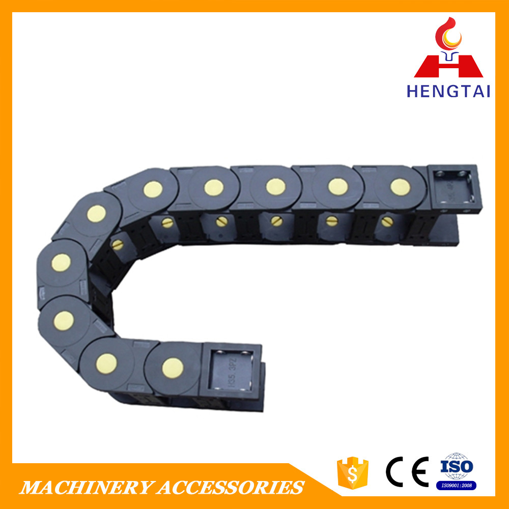 HT running speed fast Cable carrier and cable drag chain with high quality have stock