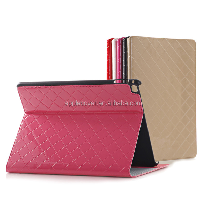 Fashion girl style PU Leather Case for iPad Pro with card holder, For iPad Pro Case , for ipad pro accesssories