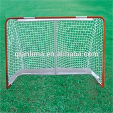 Deluxe Folding Street Hockey Goal Set Hockey Sticks Ball Games outdoor