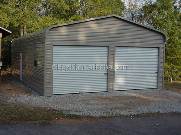 Steel prefab carport garage building warehouse workshop Prefab workshops garages