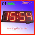 12inch Outdoor large led time electronic clock alibaba express