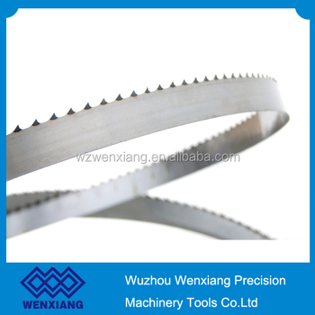 Bone cutting tool band saw blade for butcher using