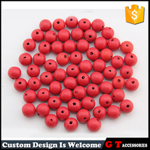 Fashion 12mm Chinese Cherry Wooden Beads Loose Wood Beads With Hole For Jewelry Accessories