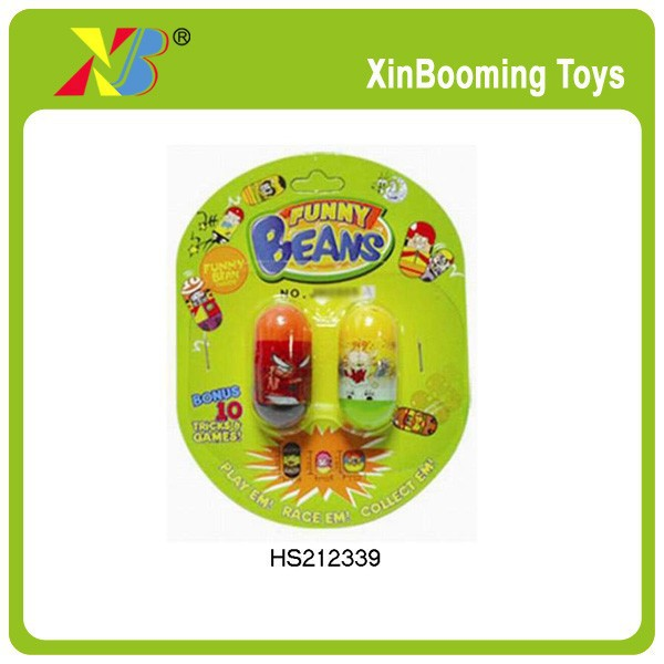 Promotional toys magic jumping beans in different size
