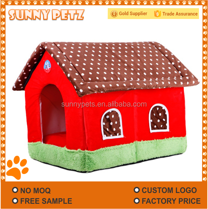 Small Dog Cotton House Pets Kennels Beds Pads Cat House