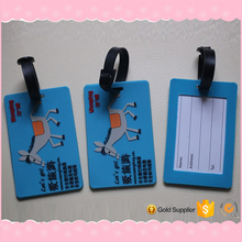 Blue Animal Design Luggage Hang Tag