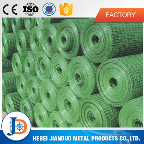 Galvanized pvc coated hardware cloth 1/2 3/4 1 inch from alibaba