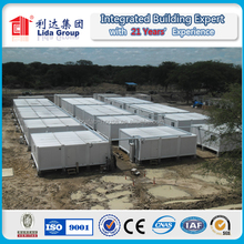 modular flat pack container porta cabin for labor accommodation building