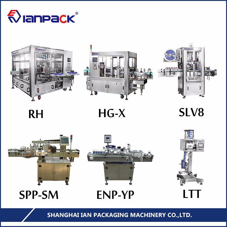 IANPACK 20-Year-Experience high efficiency full automatic labelling machine wine