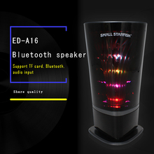 High quality and high effect MINI SPEAKER for Built in light to follow the music change the frequency jump