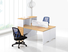 Elegant 2 person Office workstation office low partition