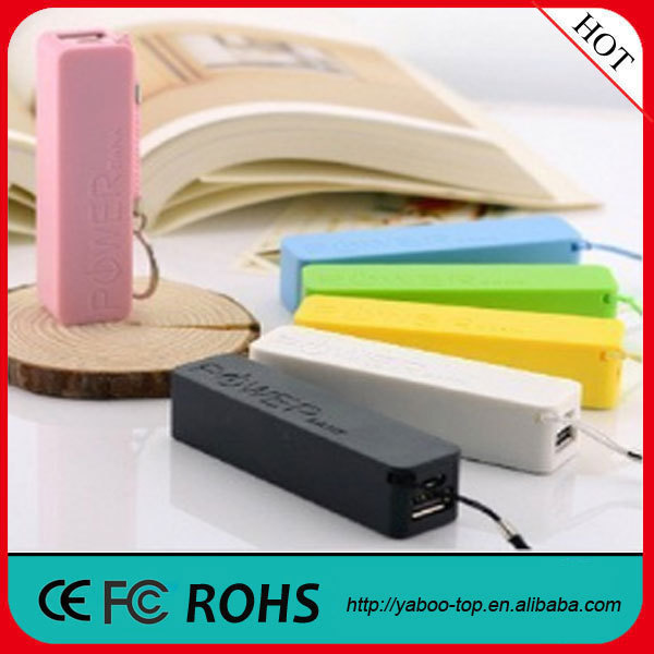 (Promotion) 2600mAh Manual for Power Bank, Perfume Mini Power Bank, Wholesale Power Bank for Smartphone