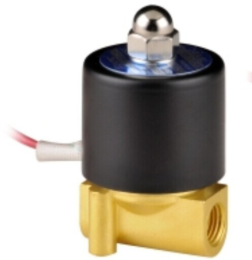 2W025-08 brass 12v 24v electric water solenoid <strong>valve</strong> 1/4
