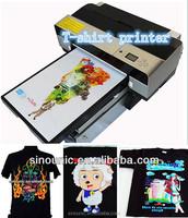 cheaper directly on tee-shirt printing equipment
