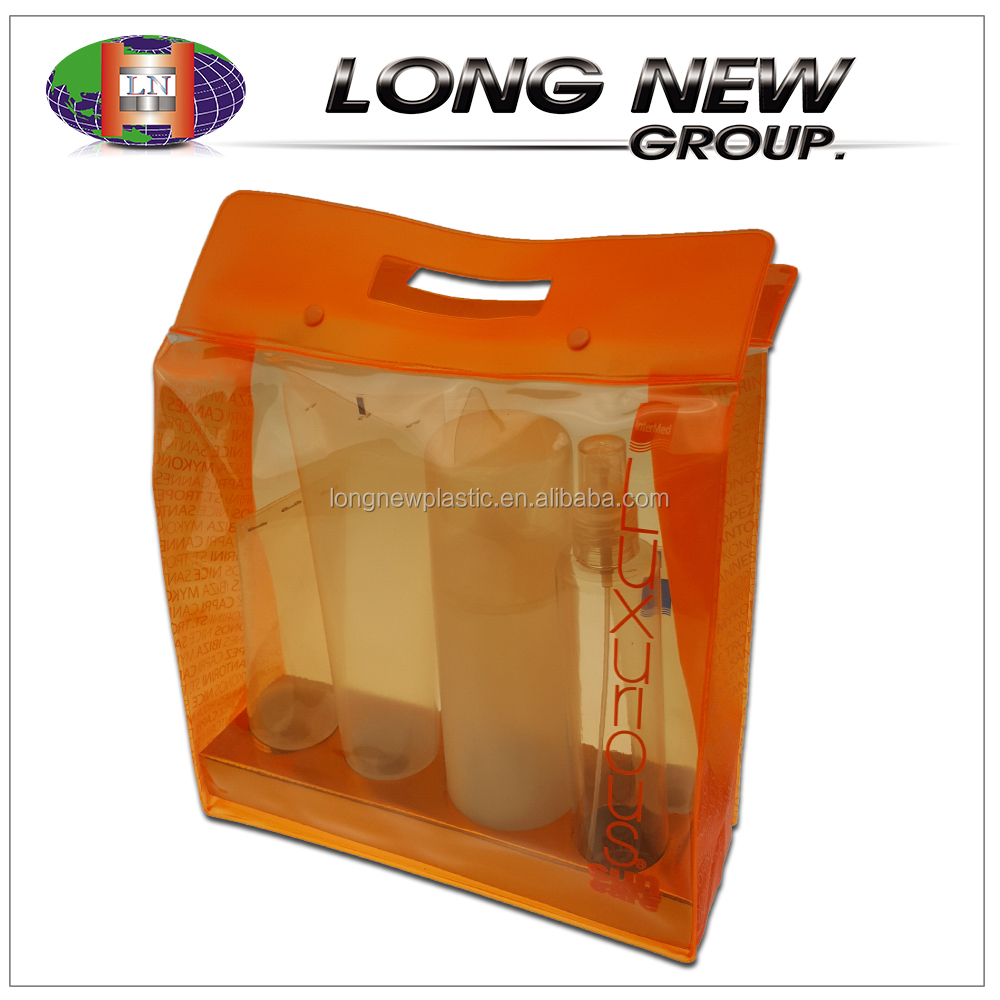 china suppliers creative wholesale pvc transparent cosmetic bag
