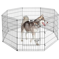 80x75cmx8 Panels Dog Puppy Exercise Play Pen