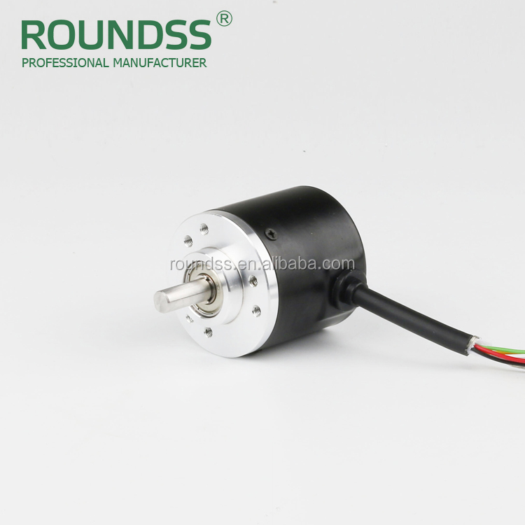 Roundss single/multi turn optional absolute ratory encoder CE ISO9001 binary code gray code