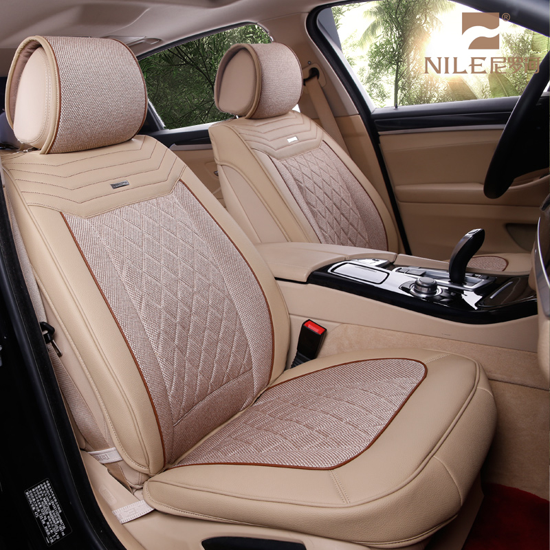 Best selling 9 in 1 custom well fit car seat cover leather for toyota axio