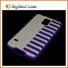 Piano phone back cover for samsung galaxy s5 phone case G900