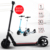 absorption aluminum alloy electric scooter lithium battery two wheel folding mobility scooter