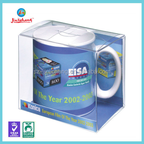 Customize Printed PVC Foldable Clear PET Plastic Packaging Box