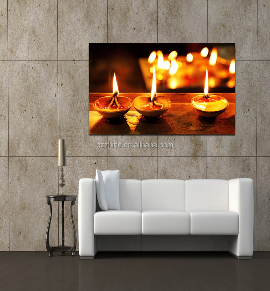 dropshipping abstract christmas painting lighted wall art radiance lighted canvas