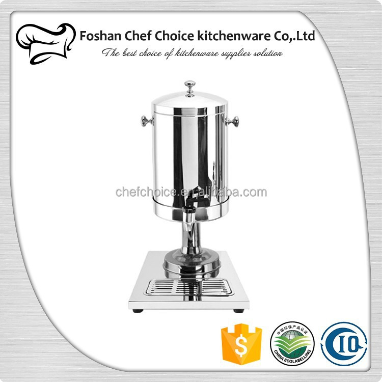 8L & 12L Siliver Leg Design Coffee Dispenser Buffer and Resturant Euipment Hot and Cold Milk Tea Dispenser
