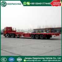 3 Axle 40ft Flatbed Truck Trailer