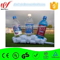 Super quality water bottle shape inflatable replicas model,inflatable water bottle balloon for advertising Y3122