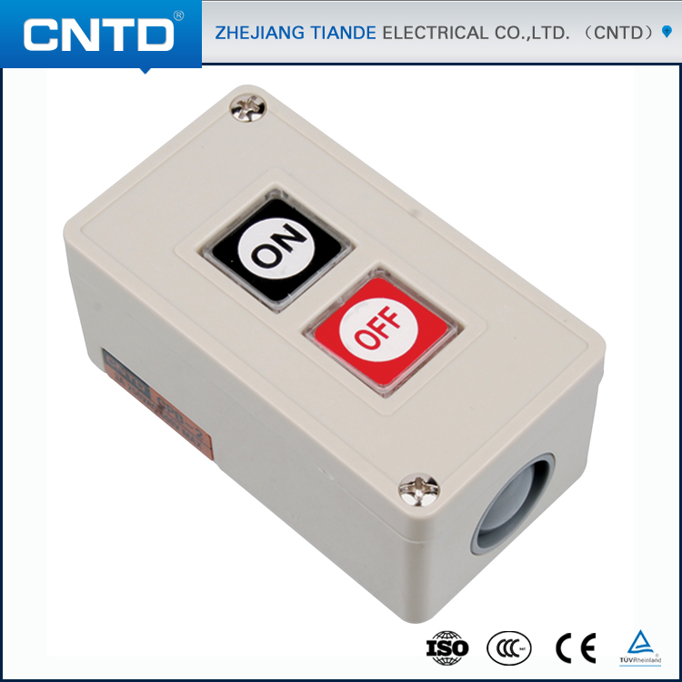 CNTD 2016 Surface Mounting Plastic Push Button Switch Pushbutton Control Box