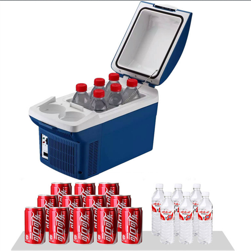 <strong>Fashional</strong> Portable DC 12V 8L cooler and warmer auto mini fridge