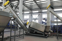PE PP agricultural or packing film bag washing recycling line