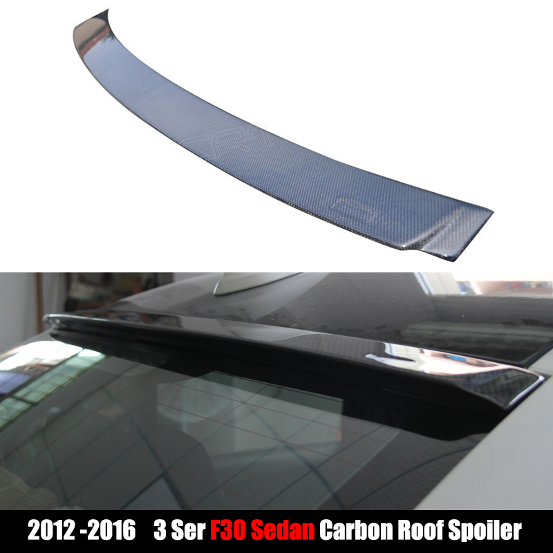 2012-2017 Top Quality Carbon Fiber Roof Spoiler For BMW F30 2-Door Sedan 320i 320d 328i 330i 335i 328iM