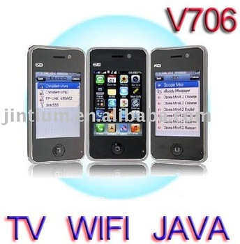 Digital DVB-T cell phone V706