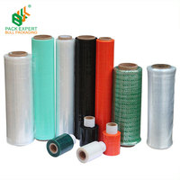 Colored Factory Sale Casting LLDPE Packaging shrink Wrap Stretch Film cling film plastic roll film