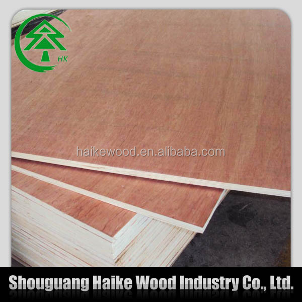 2014 new okoume plywood thickness 4mm