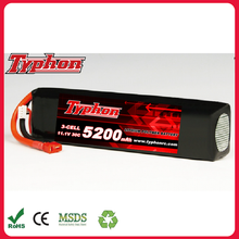 LiPo Battery 11.1V 5200mAh 30C T Plug for RC Helicopter / Car / Boat
