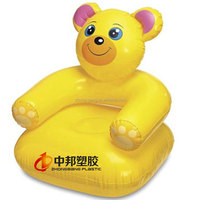 unique inflatable chair for kids,children catoon bear shape party chair