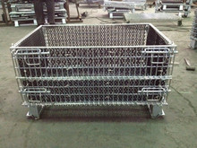 Collapsible Mesh Pallet Box/ Metal Basket