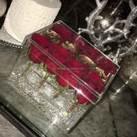 Clear Acrylic Box For Roses