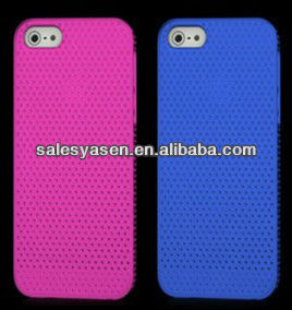 2013 hot selling colorful for iphone 5 plastic Polka dot shell