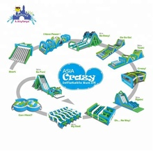 The Creazy Fun Inflatable 5k Run,Giant Inflatable Obstacle Course for Adults