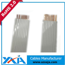 Chinese factory made ffc cable UL 20861 flat ribbon