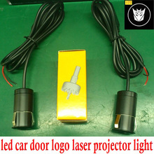 car laser projector led car logo door light with metal housing