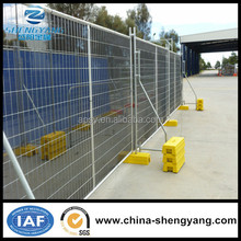Galvanized outdoor temporary fence dog kennels fence