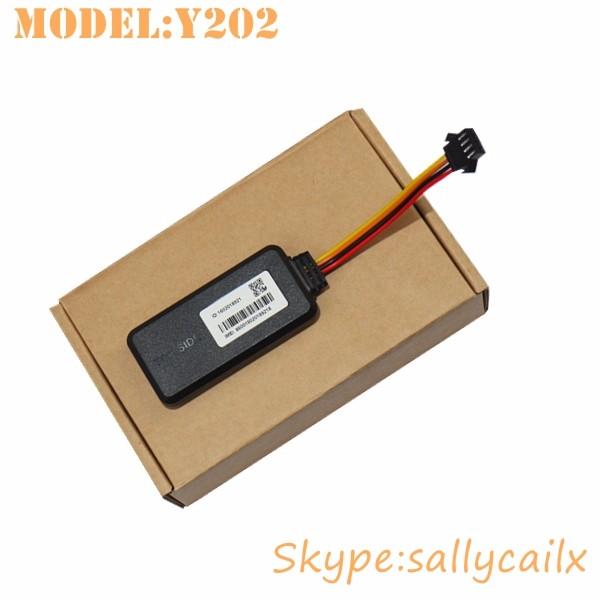 Motorcycle GPS Tracking Device Vehicle ignition cut off car tracker Y202